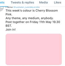Colour Collective Fridays—Cherry Blossom Pink