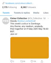 Colour Collective Fridays—Gamboge