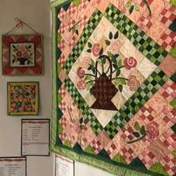 Scenes from the Dublin Rippers Quilt Exhibit